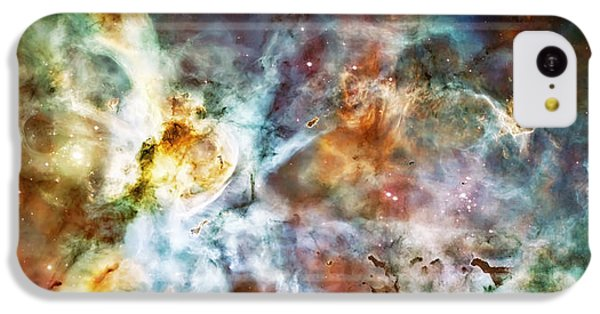 Star Birth In The Carina Nebula  IPhone 5c Case by Jennifer Rondinelli Reilly - Fine Art Photography