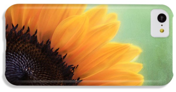 Sunflower iPhone 5c Case - Staring Into The Sun by Amy Tyler