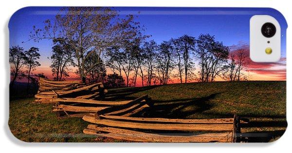 Stars At Sunrise On The Blue Ridge IPhone 5c Case by Dan Carmichael