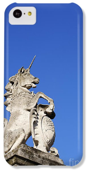 Statue Of A Unicorn On The Walls Of Buckingham Palace In London England IPhone 5c Case by Robert Preston