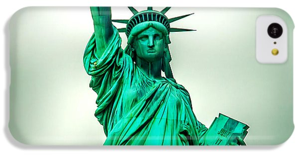 Statue Of Liberty iPhone 5c Case - Statue Of Liberty by Az Jackson