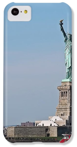 Statue Of Liberty IPhone 5c Case by Rona Black