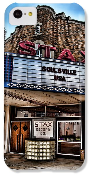 Stax Records IPhone 5c Case by Stephen Stookey