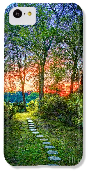 Stepping Stones To The Light IPhone 5c Case by Marvin Spates