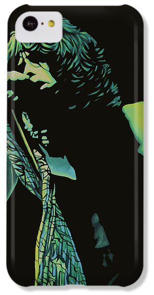 Steven Tyler 2 IPhone 5c Case by Paul Meijering