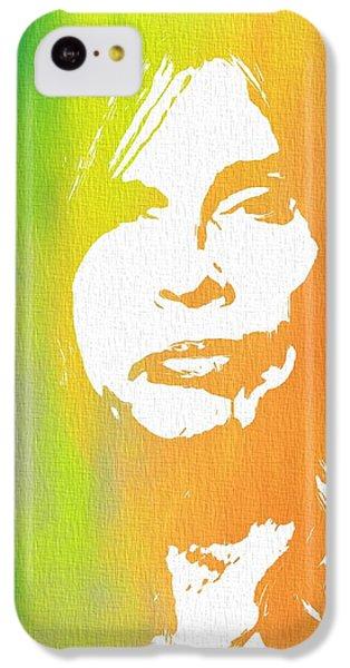 Steven Tyler Canvas IPhone 5c Case by Dan Sproul