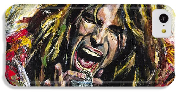Musicians iPhone 5c Case - Steven Tyler by Mark Courage