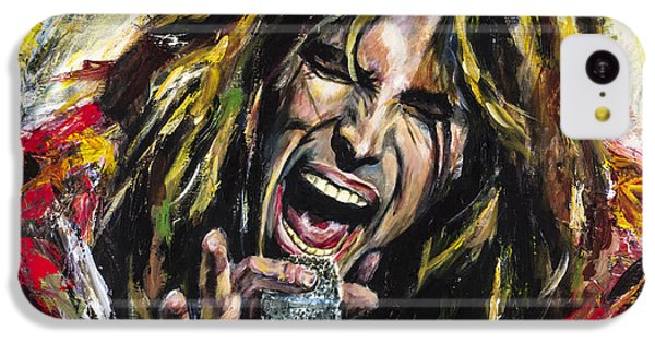 Steven Tyler IPhone 5c Case by Mark Courage