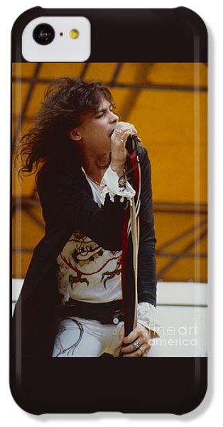 Steven Tyler Of Aerosmith At Monsters Of Rock In Oakland Ca IPhone 5c Case
