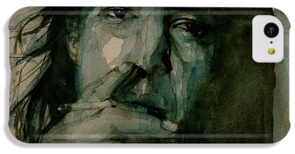 Stevie Ray Vaughan IPhone 5c Case by Paul Lovering