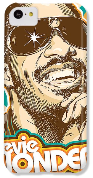 Stevie Wonder Pop Art IPhone 5c Case