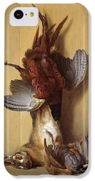 Still Life With A Hare, A Pheasant And A Red Partridge IPhone 5c Case by Jean-Baptiste Oudry