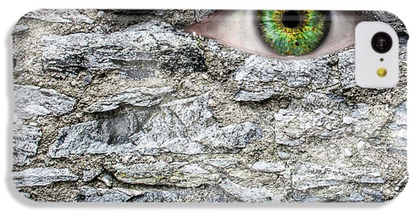 Gorgon iPhone 5c Case - Stone Face by Semmick Photo