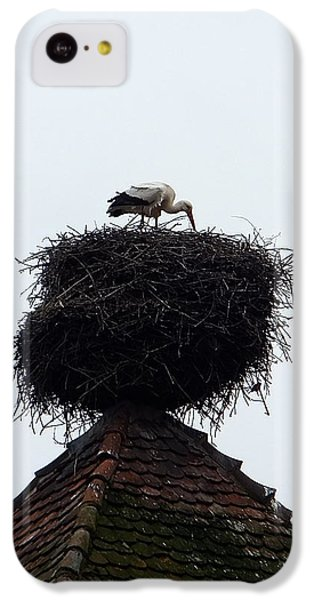 IPhone 5c Case featuring the photograph Stork by Marc Philippe Joly