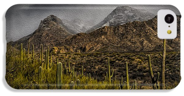 Storm Over Catalinas Aso IPhone 5c Case