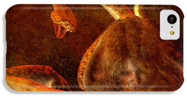 Gorgon iPhone 5c Case - Story Of Eve by Bob Orsillo