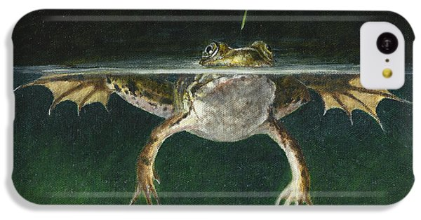 Grasshopper iPhone 5c Case - Study Of A Grasshopper by Dreyer Wildlife Print Collections