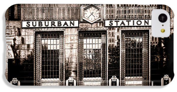 Suburban Station IPhone 5c Case by Olivier Le Queinec