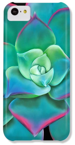 Succulent Aeonium Kiwi IPhone 5c Case by Laura Bell