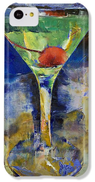 Summer Breeze Martini IPhone 5c Case by Michael Creese