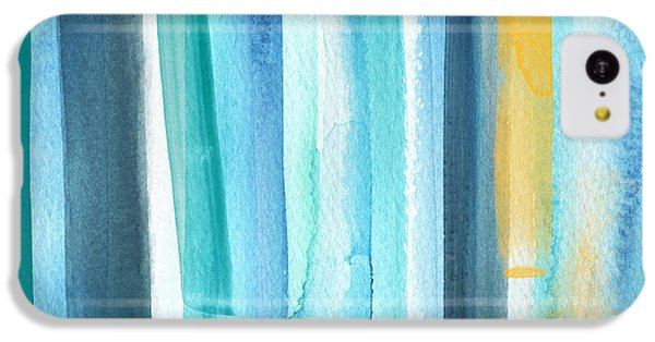 Summer Surf- Abstract Painting IPhone 5c Case