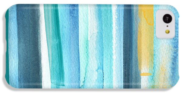 Summer Surf- Abstract Painting IPhone 5c Case by Linda Woods