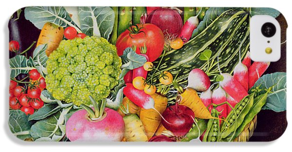 Summer Vegetables IPhone 5c Case by EB Watts