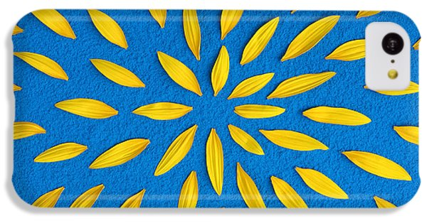 Sunflower iPhone 5c Case - Sunflower Petals Pattern by Tim Gainey