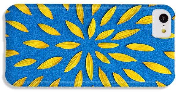 Sunflower Petals Pattern IPhone 5c Case by Tim Gainey