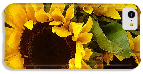 Sunflowers IPhone 5c Case by Amy Vangsgard