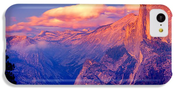 Sunlight Falling On A Mountain, Half IPhone 5c Case