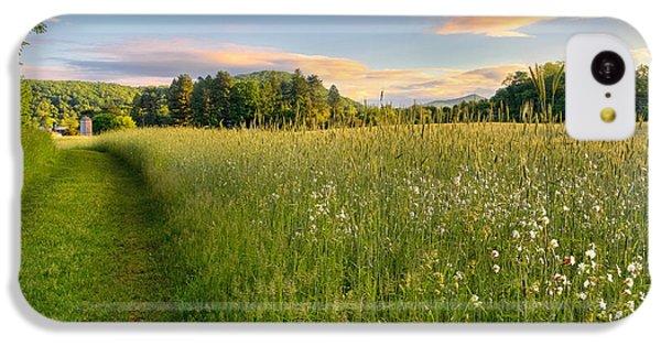 Sunny Valley Sunrise IPhone 5c Case