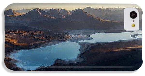 South America iPhone 5c Case - Sunrise In Atakama by Rostovskiy Anton