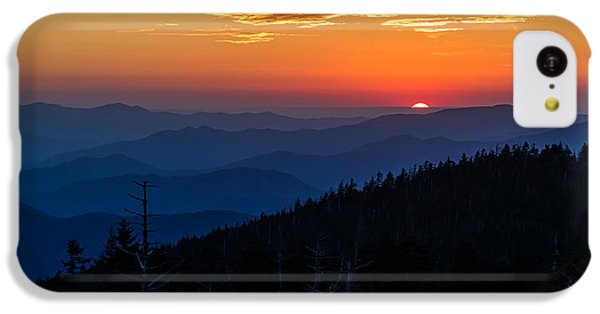 Sun's Last Peak Over The Blue Ridge IPhone 5c Case