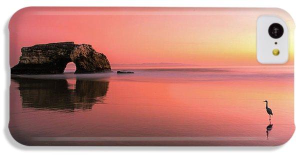 Heron iPhone 5c Case - Sunset At The Natural Bridge-2 by Rob Li