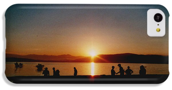 Beach Sunset iPhone 5c Case - Sunset Boulevard by Juan  Bosco