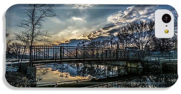 Sunset Bridge 2 IPhone 5c Case