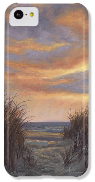 Beach Sunset iPhone 5c Case - Sunset By The Beach by Lucie Bilodeau