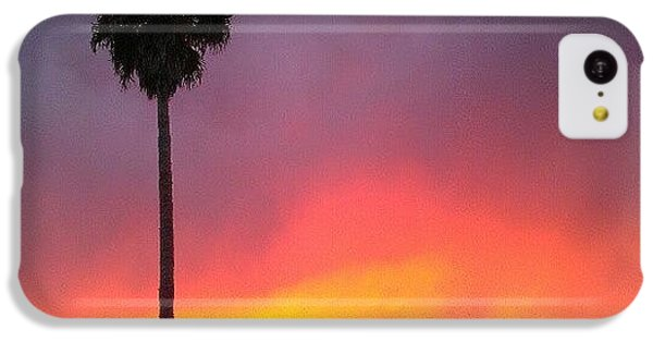 Orange iPhone 5c Case - Sunset California by CML Brown