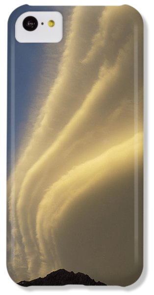 Sunset On Storm Clouds Near Mt Cook IPhone 5c Case