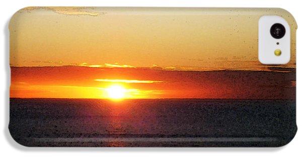 Sunset Painting - Orange Glow IPhone 5c Case