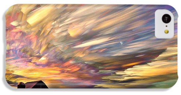 Sunset Spectrum IPhone 5c Case