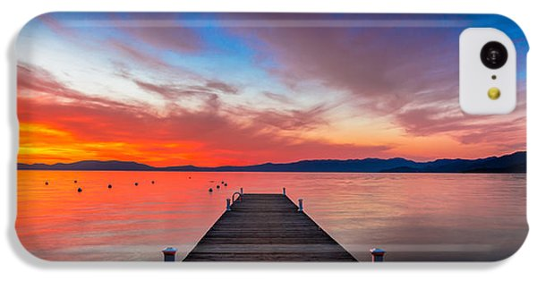 Beautiful Sunrise iPhone 5c Case - Sunset Walkway by Edgars Erglis