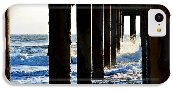 Sunwash At St. Johns Pier IPhone 5c Case by Anthony Baatz
