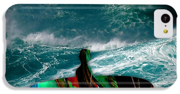 Surf Board IPhone 5c Case by Marvin Blaine