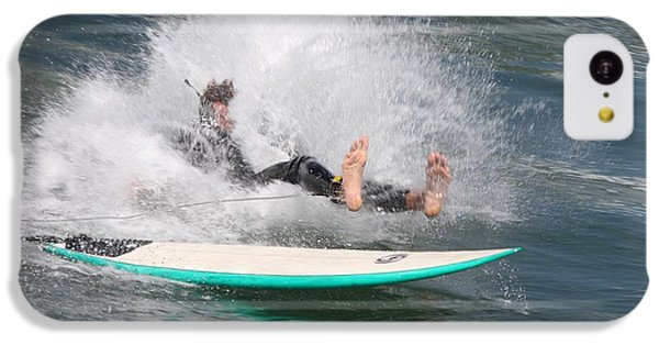 IPhone 5c Case featuring the photograph Surfer Wipeout by Nathan Rupert