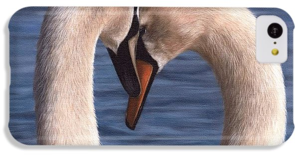 Swans Painting IPhone 5c Case