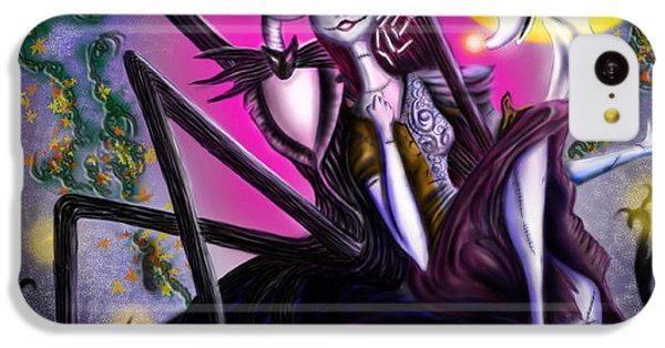 Sweet Loving Dreams In Halloween Night IPhone 5c Case by Alessandro Della Pietra