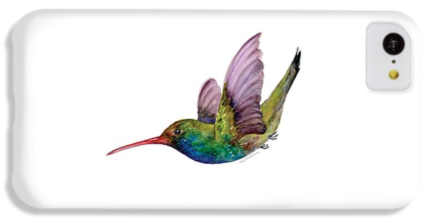 Swooping Broad Billed Hummingbird IPhone 5c Case by Amy Kirkpatrick