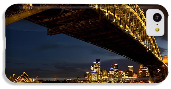IPhone 5c Case featuring the photograph Sydney Harbour Bridge by Miroslava Jurcik